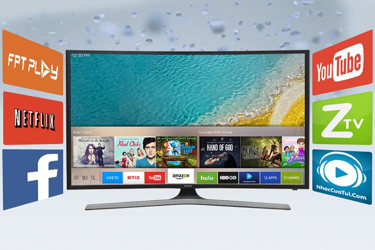 Smart Tivi Cong 4K Samsung 40 inch 40KU6100 (HN)