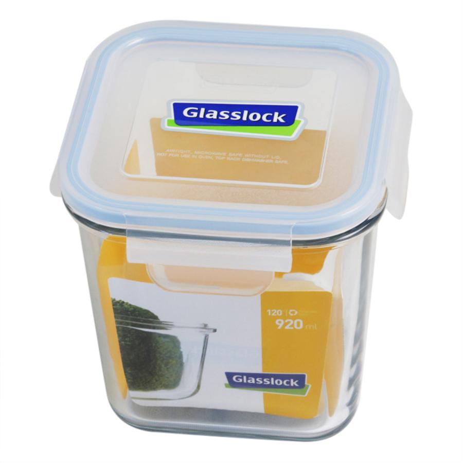 Hộp Thủy Tinh Vuông Cao Glasslock MCSD092 (920ml)
