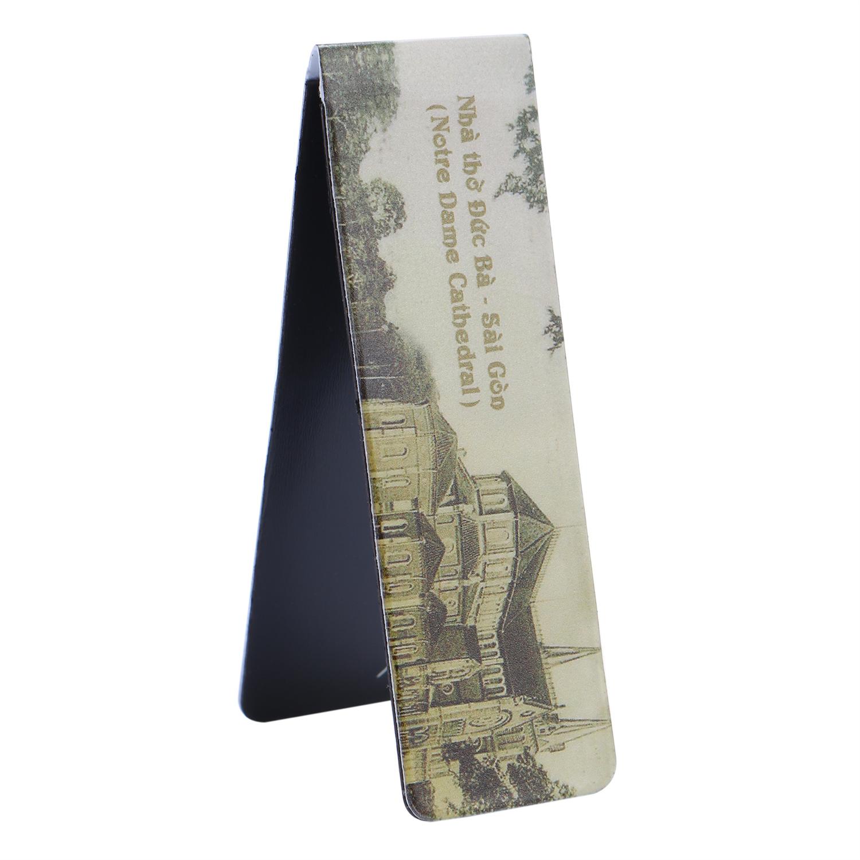 Bookmark Nam Châm Kính Vạn Hoa - Nhà Thờ