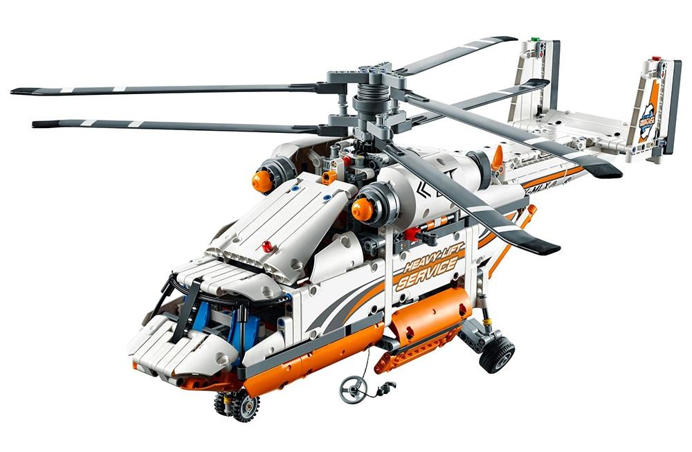 Mô Hình LEGO Technic - Trực Thăng Chở Hàng 42052 (1042 Mảnh Ghép)