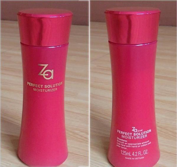 Sữa Dưỡng Ẩm Chống Lão Hóa Perfect Solution Moisturizer ZA (125ml)