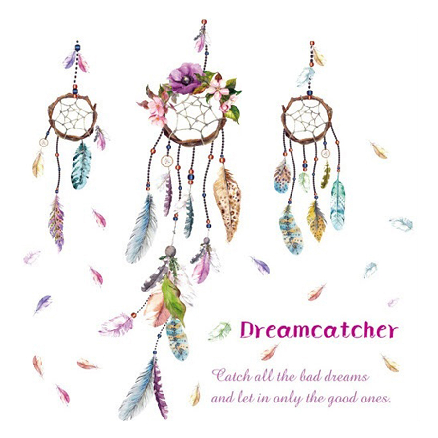 Decal Dreamcatcher Lala Shop DC1676 (105 x 100 cm)