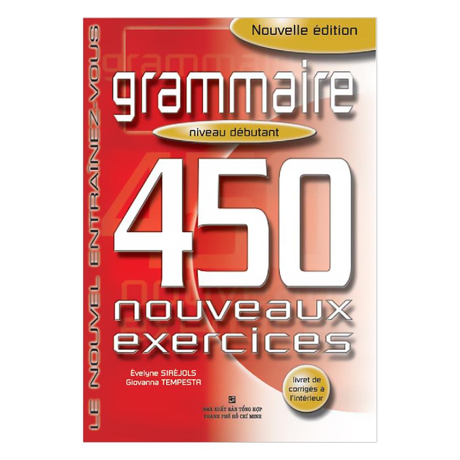 450 Grammaire Niveau Débutant