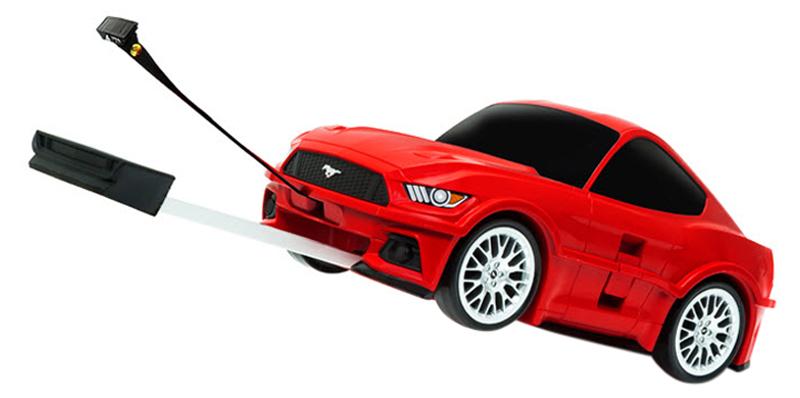Vali Kéo Welly Hình Ford Mustang 86 91006W - Đỏ