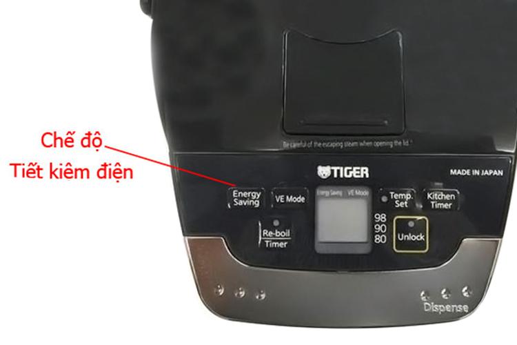 Bình Thủy Điện Tử Tiger PIE-A50W - 5L