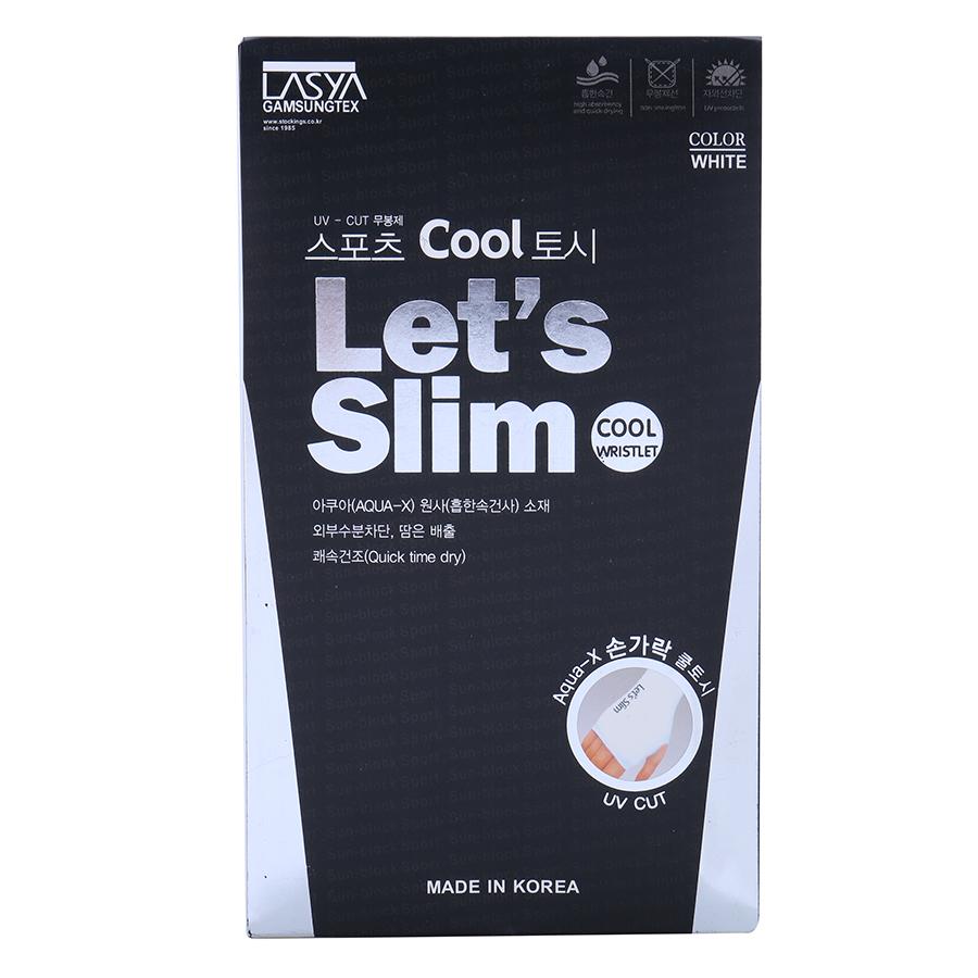 Găng Tay Chống Nắng Xỏ Ngón Sportslink Aqua-X Let's Slim (Giao Màu Ngẫu Nhiên)