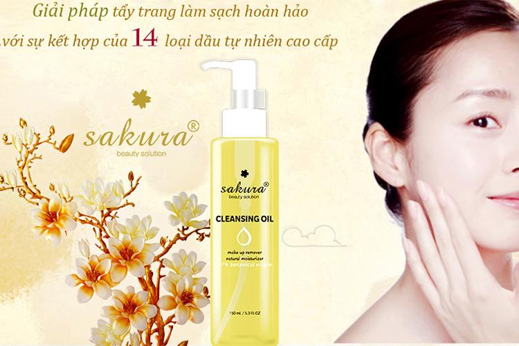 Dầu Tẩy Trang Sakura Cleansing Oil (150ml) 1