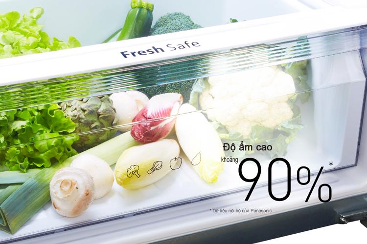 Tủ Lạnh Inverter Panasonic NR-BD418VSVN (330 lít) - Bạc