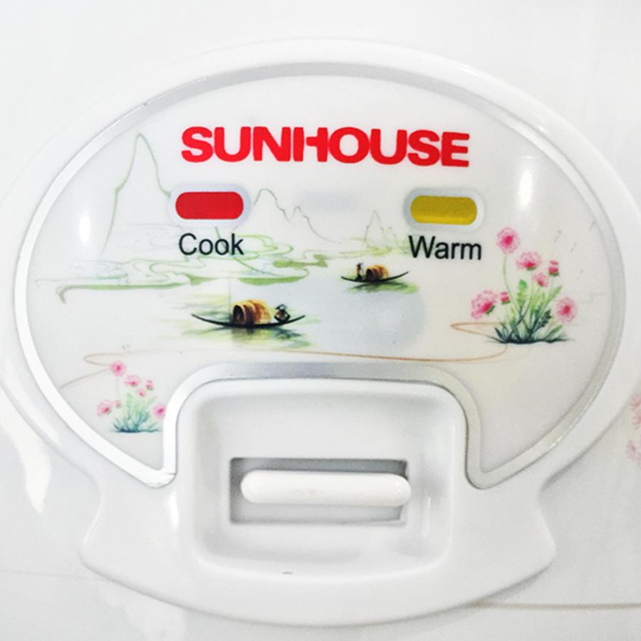 Nồi Cơm Điện Đa Năng Sunhouse SHD8602 (1.8L) – Trắng- Hàng chính hãng