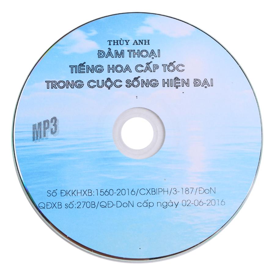 Đàm Thoại Tiếng Hàn Cấp Tốc Trong Cuộc Sống Hiện Đại (Kèm CD)
