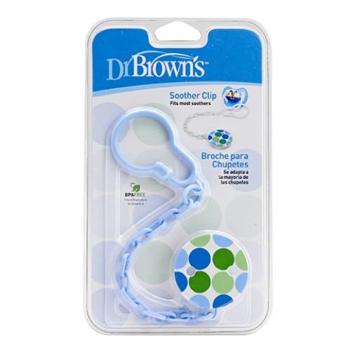 Dây Đeo Ty Ngậm Dr.Browns AC037 màu xanh