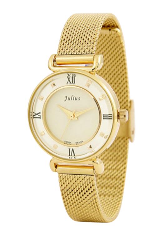 Đồng Hồ Nữ Dây Kim Loại Julius JA-728 - Vàng
