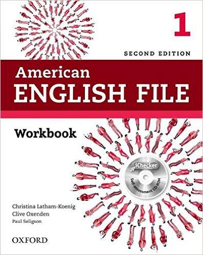 American English File (2 Ed.) 1: Workbook and iChecker - Paperback