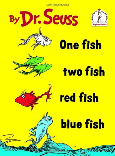 One Fish, Two Fish, Red Fish, Blue Fish - Paperback