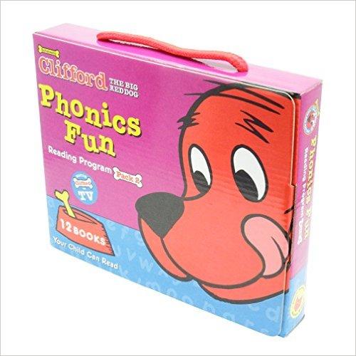 Clifford Phonics Fun Pack 2 - Paperback
