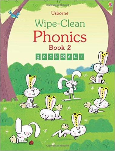 Usborne Wipe-Clean  Phonics Book 2