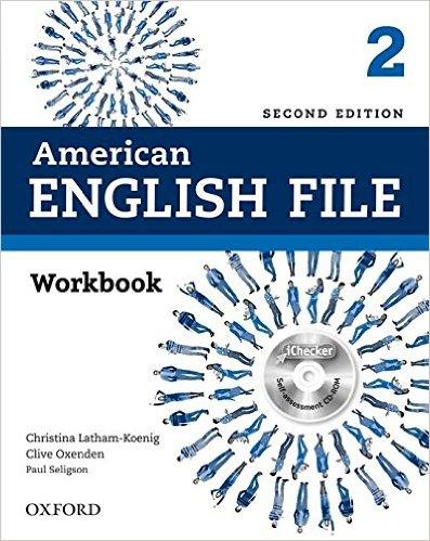 American English File (2 Ed.) 2: Workbook and iChecker - Paperback
