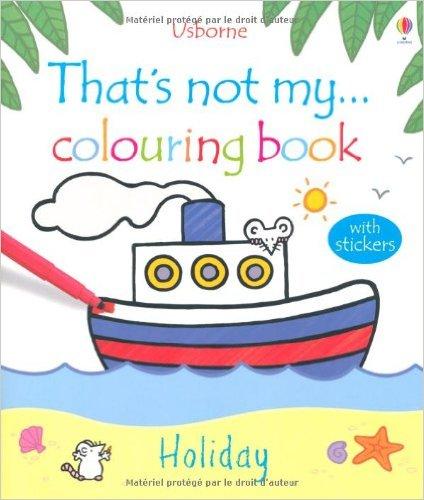 Sách tô màu That's Not My Colouring Book: Holiday