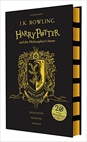 Harry Potter Part 1: Harry Potter And The Philosopher's Stone (Hardback) Hufflepuff Edition (Harry Potter và Hòn đá Phù Thủy) (English Book)