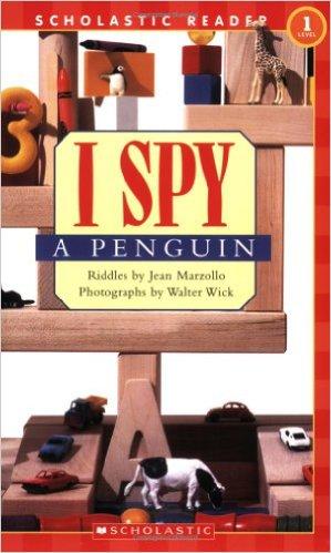 Schol Rdr Lvl 1: I Spy A Penguin - Paperback