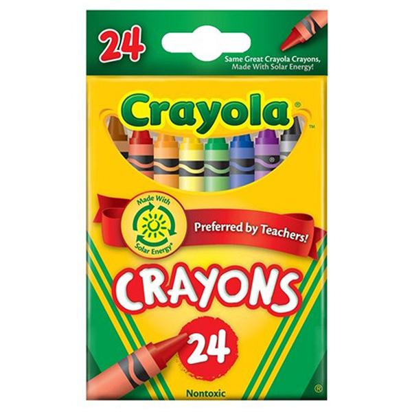 Bút Sáp 24 Màu Crayola 523024