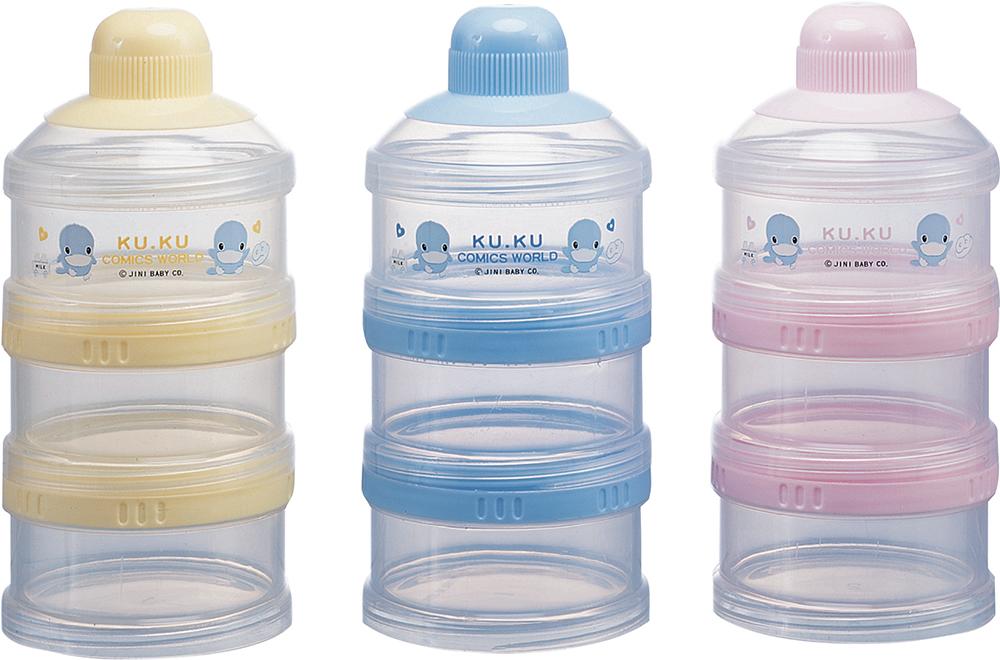 Hộp Chia Sữa 3 Ngăn Kuku KU5318
