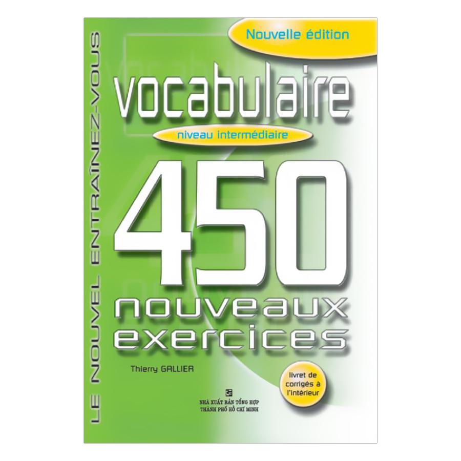 450 Vocabulary Niveau Intermediare
