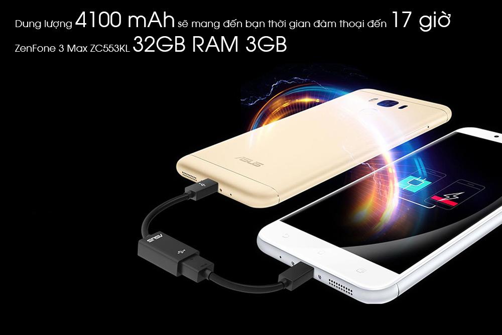 ZenFone 3 Max ZC553KL 32GB RAM 3GB