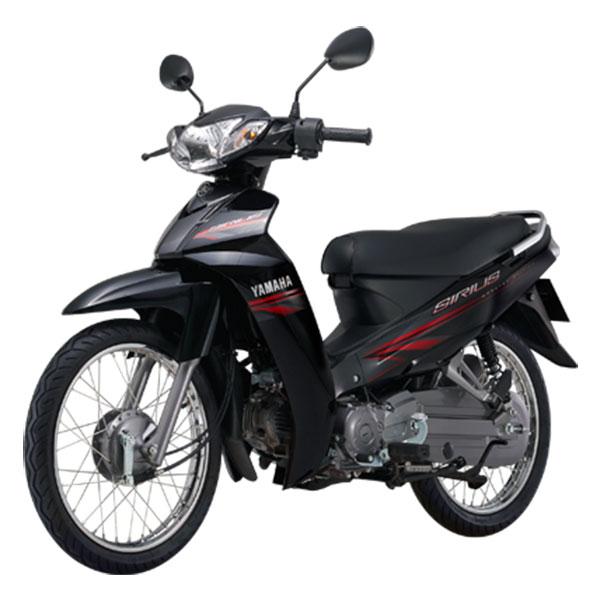 Xe Máy Yamaha Sirius Phanh Cơ - Đen + Tặng Combo 4 Quà Tặng