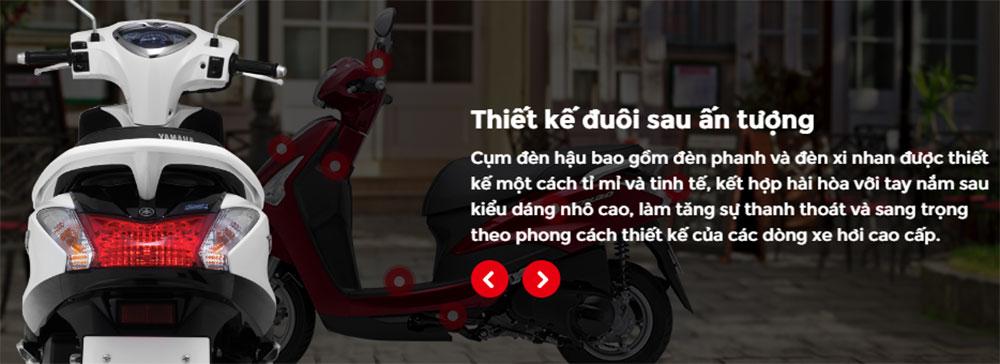Xe Yamaha Acruzo Standard - Đỏ