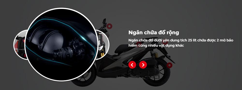 Xe Yamaha NVX 155 Standard - Đen
