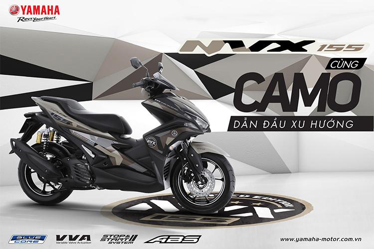 Xe Yamaha NVX 155 Limited Premium - Camo