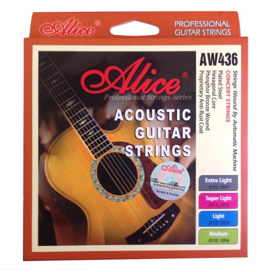 Bộ Dây Đàn Guitar Acoustic Alice AW436