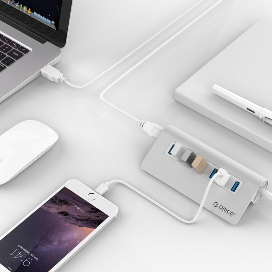 Hub USB 3.0 Orico 7 Cổng M3H7-V1 - Hàng Chính Hãng