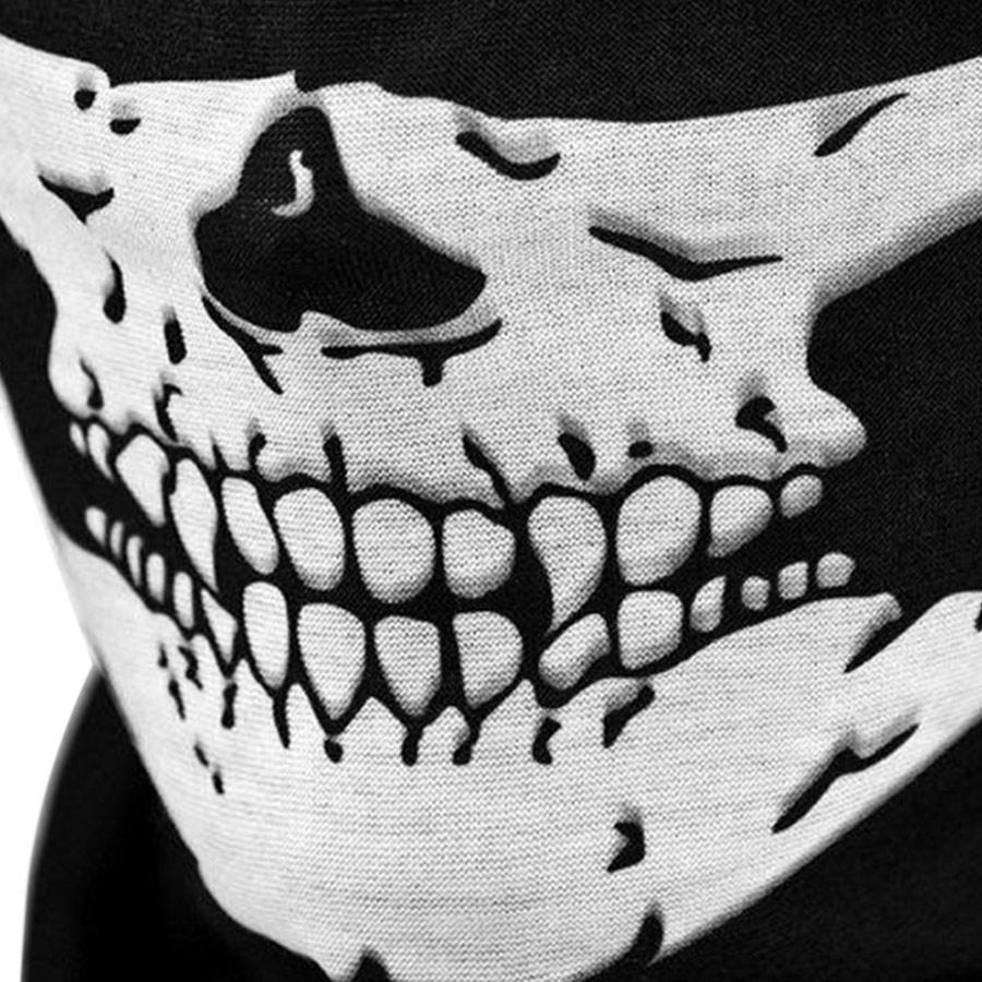 Khăn Bịt Mặt Đầu Lâu Đa Chức Năng Winwinshop88 KNMDL - Đen