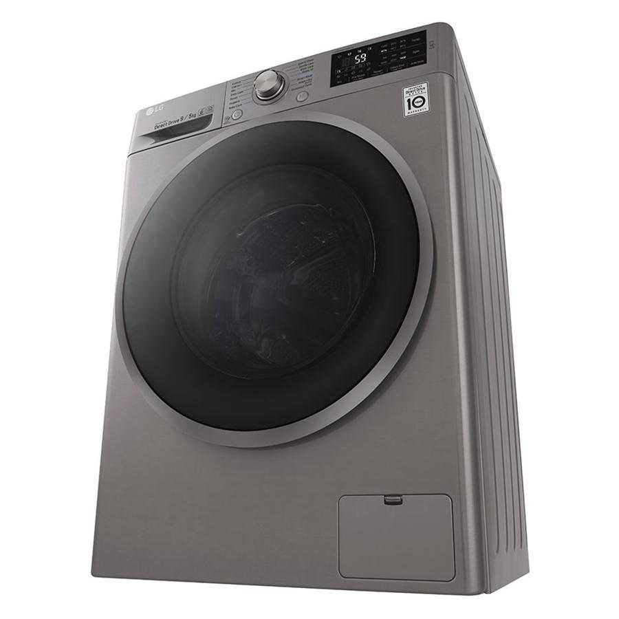 Hình ảnh Máy giặt sấy LG Inverter 9kg FC1409D4E