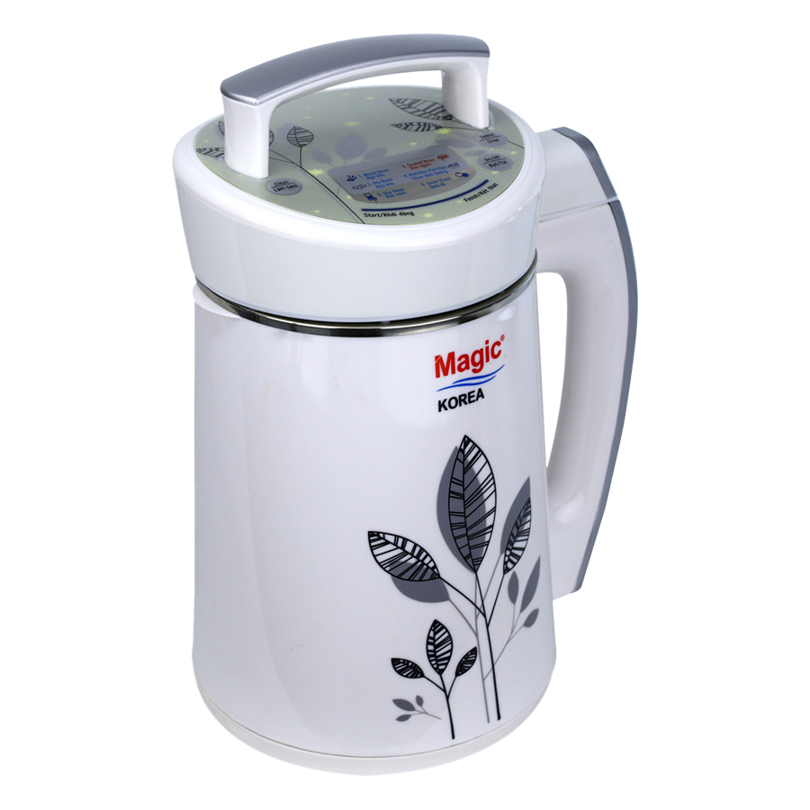 Máy Làm Sữa Đậu Nành Magic Korea A-68 (1.3L) - Trắng - Hàng chính hãng