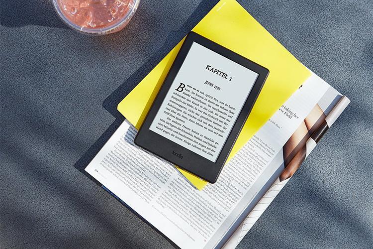 Máy Đọc Sách Kindle 2017 (8th) - Trắng