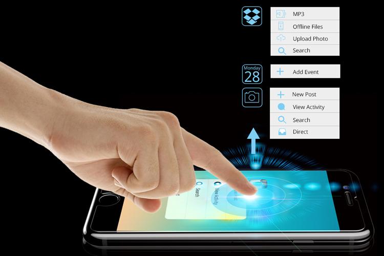 Bộ 2 Kính Cường Lực iPhone 7 Plus Tronsmart GPi7P - Hàng Chính Hãng
