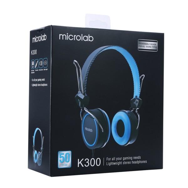Tai Nghe Microlab K300 - Hàng Chính Hãng