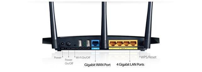 Thiết Bị Phát Sóng Wifi TP-Link Archer C7