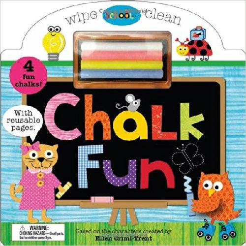Schoolies Board Books Chalk Fun