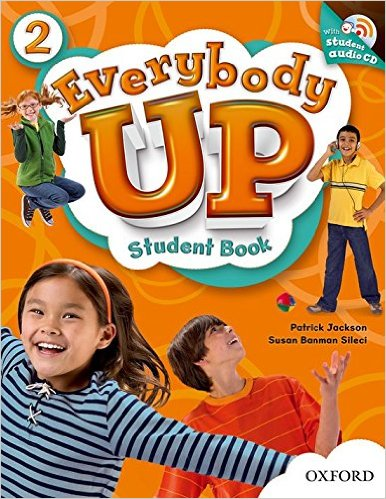 Everybody Up 2: Student Book With Audio CD Pack - Paperbook
