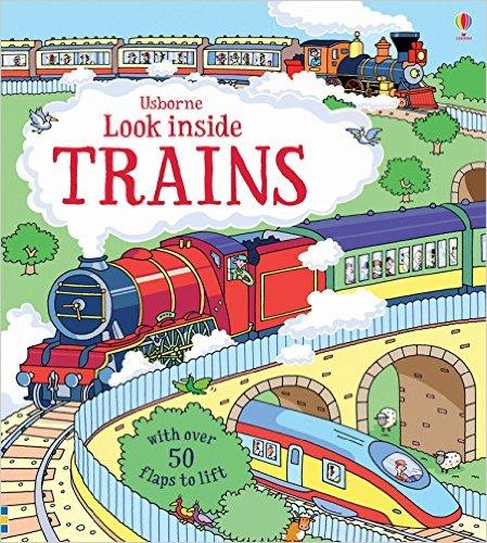 Usborne Look inside Trains