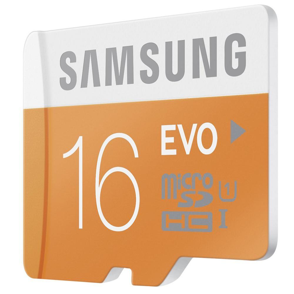 Thẻ Nhớ Micro SD Samsung Evo 16GB Class 10 - 48MB/s