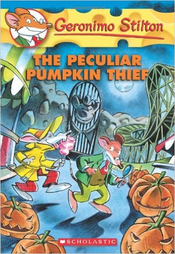 Geronimo Stilton #42: The Peculiar Pumpkin Thief (Jul) - Paperback