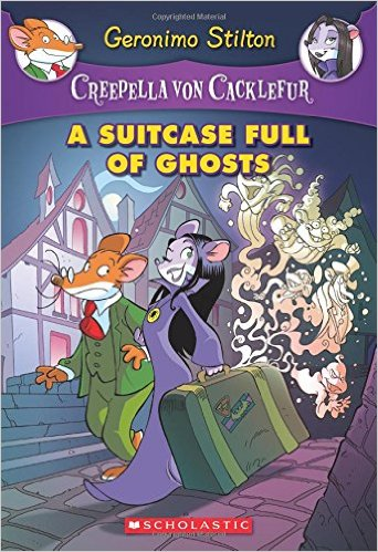 Creepella Von Cacklefur 7: Suitcase Full Of Ghosts: A Geronimo Stilton Adventure - Paperback