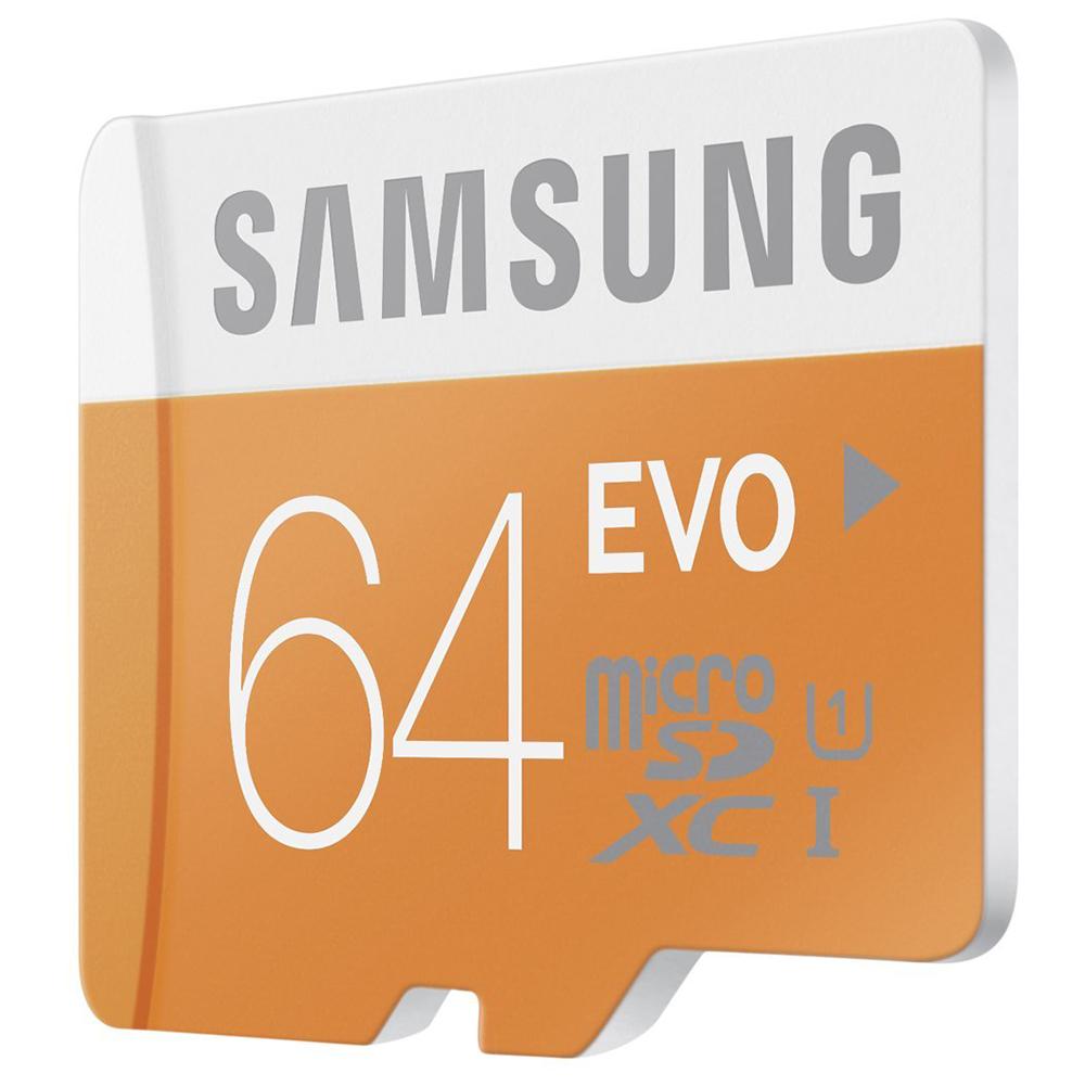 Thẻ Nhớ Micro SD Samsung Evo 64GB Class 10 - 48MB/s