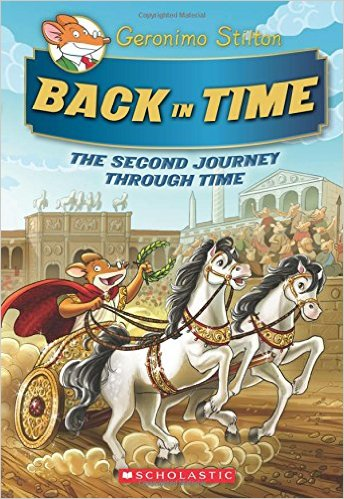 Geronimo Stilton Special Edition: Back In Time: The Second Journey Through Time - Hardcover