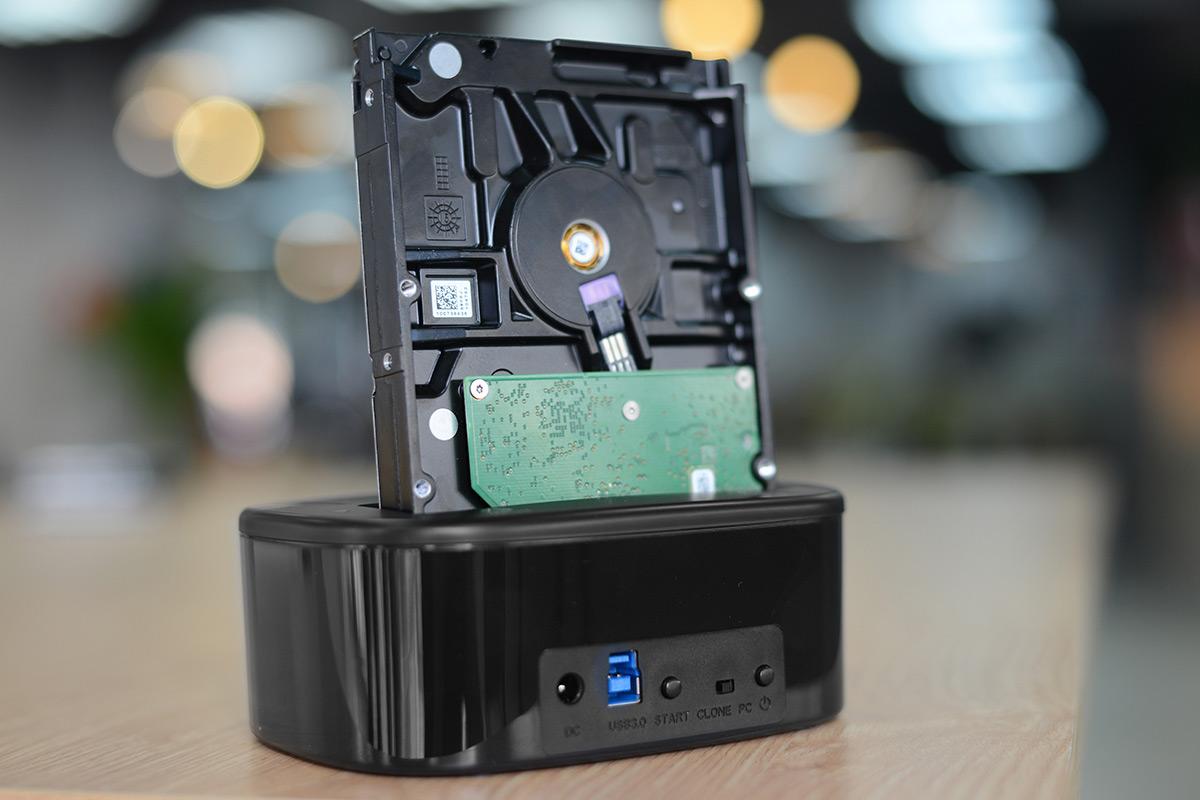 HDD Box ORICO USB3.0/3.5/2.5 - 6228US3-C - Hàng Chính Hãng